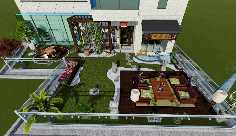 武汉市常青幼儿园屋顶儿童活动区景观设计.